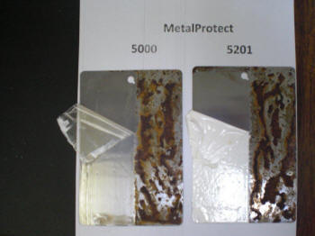 Metal Protect: Peelable Coating for Metal Protection.